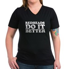 Redheads Do It Better Shirt