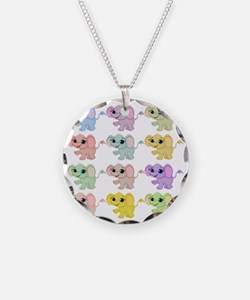 baby elephants pillow Necklace