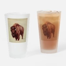 Buffalo Drinking Glass