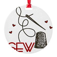 Sew Ornament