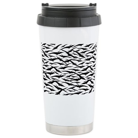 Pterodactyls Stainless Steel Travel Mug