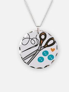 Love Button Necklace