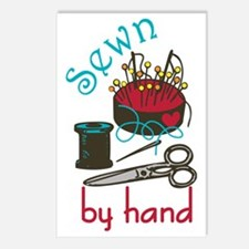 Sewn By Hand Postcards (Package of 8)