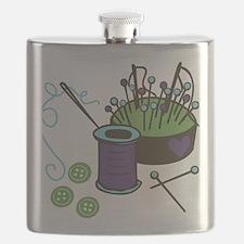 Seamstress Flask