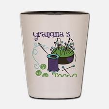 Grandma's Tools Shot Glass