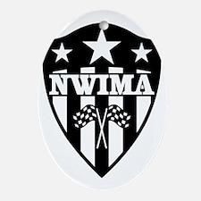 NWIMA Shield Logo Oval Ornament