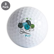 If I'm Sittin' Golf Ball
