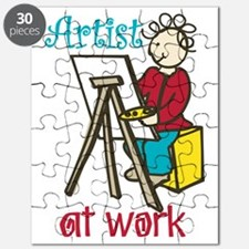 Artist at Work Puzzle