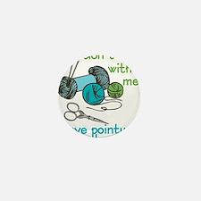 Pointy Sticks Mini Button