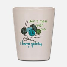 Pointy Sticks Shot Glass
