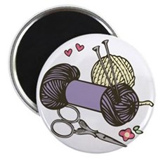 Love To Knit Magnet