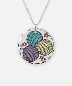 Yarn Trio Necklace