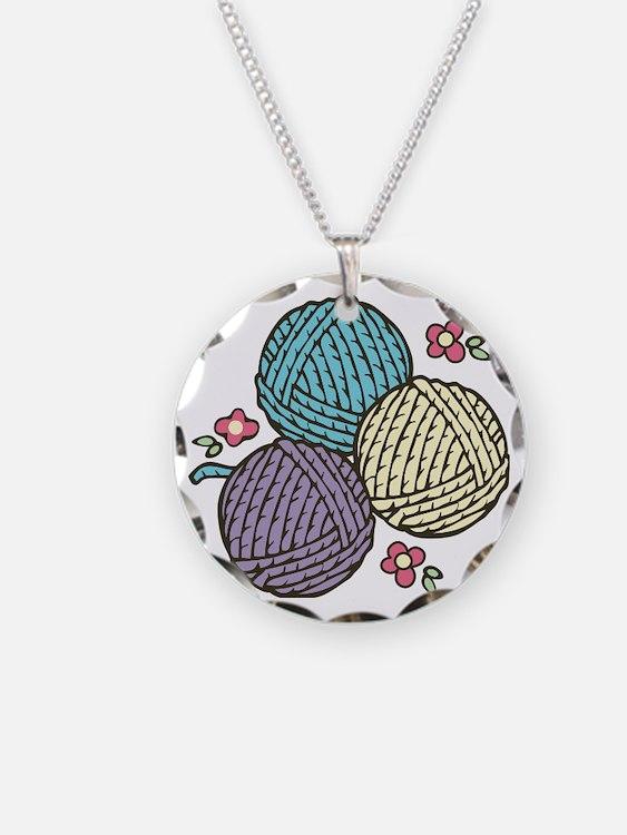 Yarn Trio Necklace