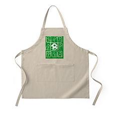 Cool Soccer player design Apron