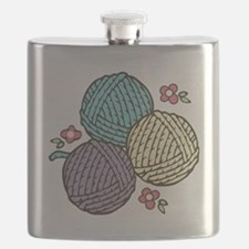 Yarn Trio Flask