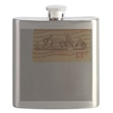 Drafting The Articles Of Confederation Stamp Flask
