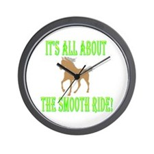 MH About the SMOOTH Ride! Wall Clock