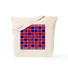 Patriotic Stars Tote Bag