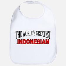 """The World's Greatest Indonesian"" Bib"
