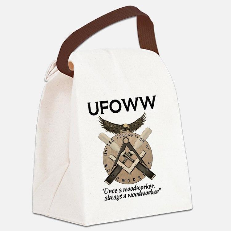 UFOWW Gear Canvas Lunch Bag