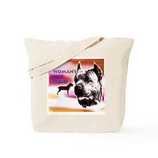 Funny Cane corso mom Tote Bag