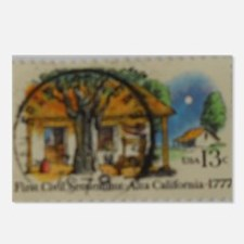 First Civil Settlement St Postcards (Package of 8)
