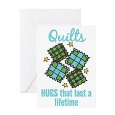 Hugs That Last Greeting Card