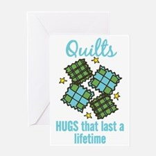 Hugs That Last Greeting Card