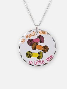 So Much Yarn  Necklace