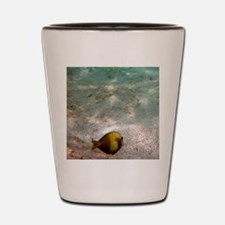 Snorkel Maui (Doggy T-shirt) Shot Glass