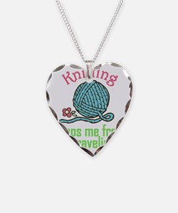 Keeps Me From Unraveling Necklace