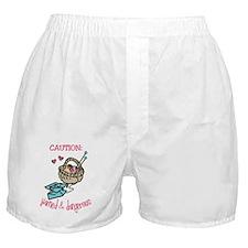 Yarned & Dangerous Boxer Shorts
