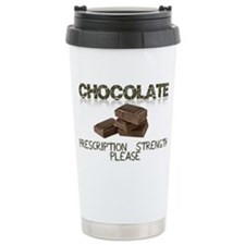 Chocolate Prescription  Travel Coffee Mug