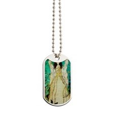 iphone 5 Angel in The Garden by Janelle N Dog Tags