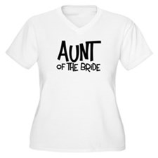 Hipster Aunt of Bride: Coal Plus Size V-Neck Tee