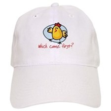 Which Came First? Baseball Cap