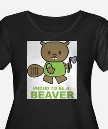 beaver3 Plus Size T-Shirt
