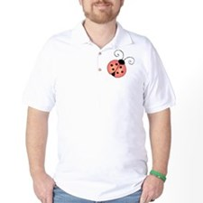 pink ladybug T-Shirt