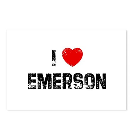 I * Emerson Postcards (Package of 8)