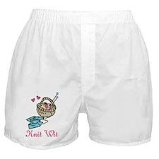 Knit Wit Boxer Shorts