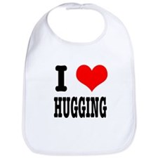 I Heart (Love) Hugging Bib