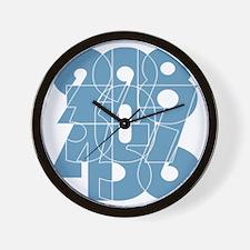 hg-zip_back_cnumber Wall Clock