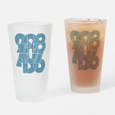 ag-ss_cnumber Drinking Glass