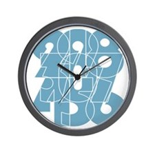 ag-ss_cnumber Wall Clock