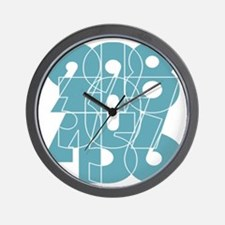 nvy-pull_cnumber Wall Clock