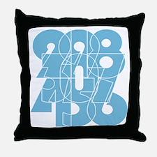 wt-ss_cnumber Throw Pillow