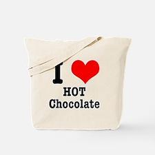 I Heart (Love) Hot Chocolate Tote Bag
