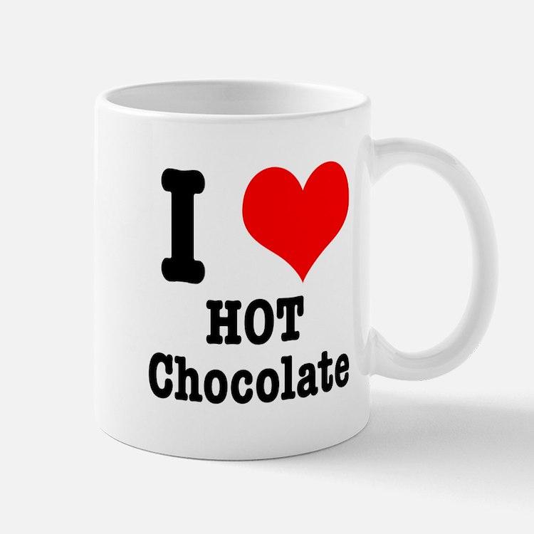 I Heart (Love) Hot Chocolate Mug