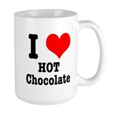 I Heart (Love) Hot Chocolate Mug