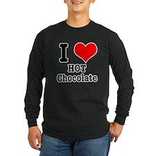I Heart (Love) Hot Chocolate T